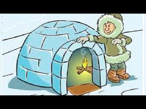 Как называется жилище из снега у канадских эскимосов