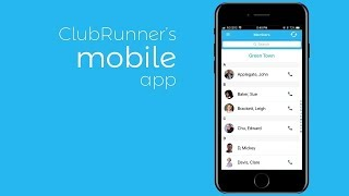 ClubRunner Mobile App for Clubs and Districts