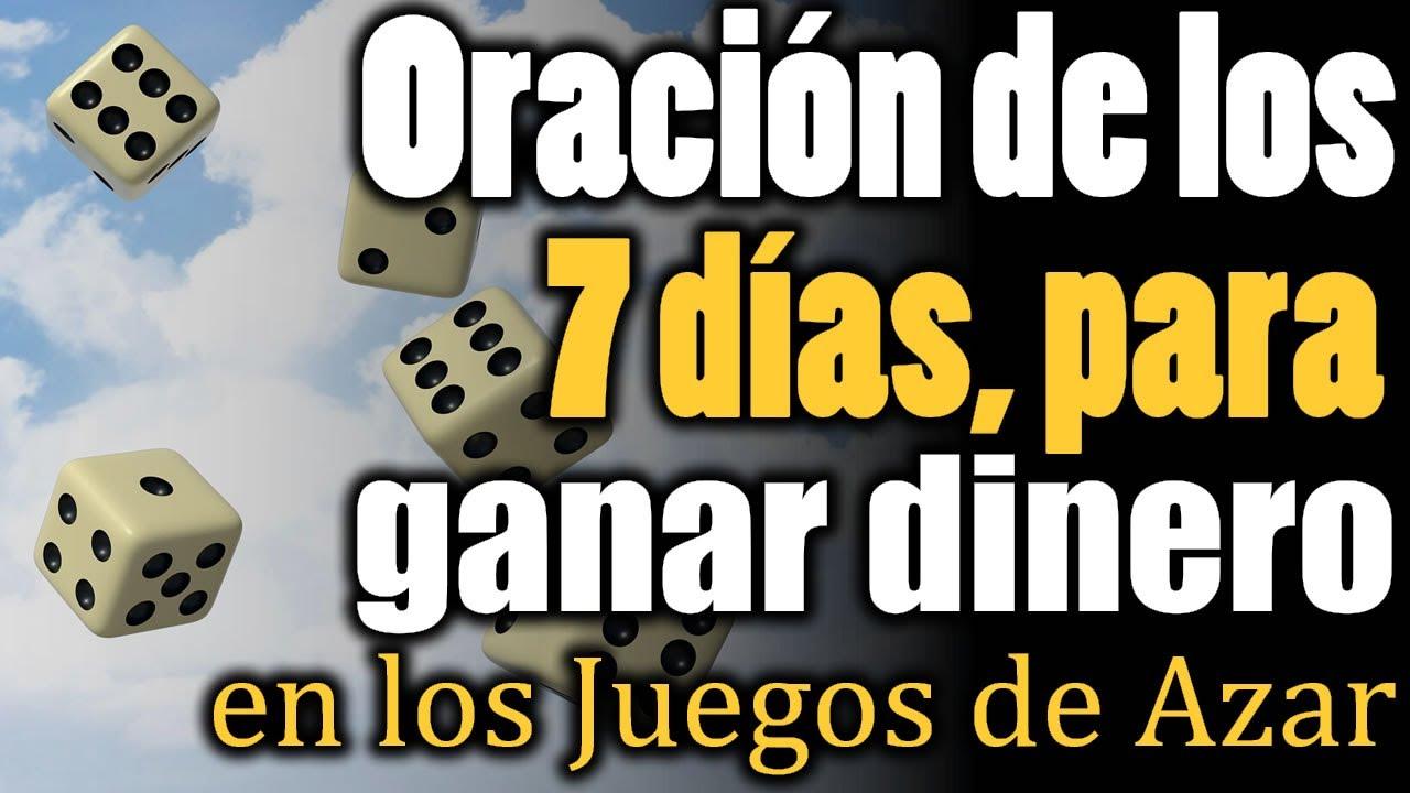 ORACIÓN de los 7 DÍAS para GANAR DINERO en los JUEGOS de AZAR ✨🎰✨ INCREÍBLE!!!