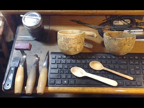 Bushcraft Wood Carving Tips Pt  1  For The Beginner