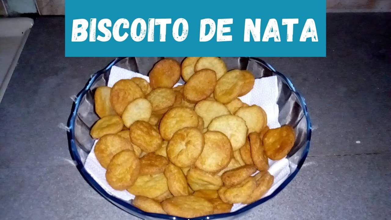 BISCOITO DE NATA FÁCIL