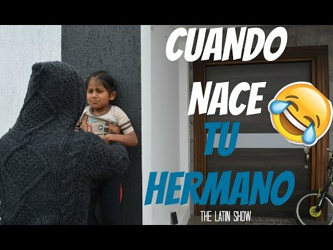 CUANDO NACE TU HERMANO MENOR | The Latin Show