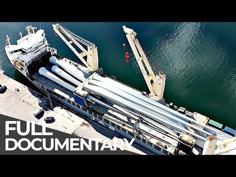 Gigantic Wind Park Relocation | Mega Transports | Free Documentary