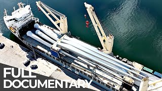 Gigantic Wind Park Relocation | Mega Transports | Free Documentary