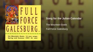 Song for the Julian Calendar