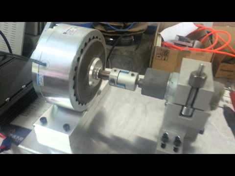 Simple motor load-life test with Validmagnetics hysteresis brake