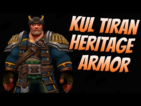 Kul Tiran Allied Race Heritage Armor | Patch 8.1.0 | World of Warcraft Battle for Azeroth