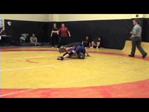 2010 Queens Open: 55 kg Brianne Barry vs. Diana Ford