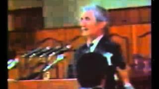 Выступление Иссы Кодзоева в Парламенте Грузии. 1991.