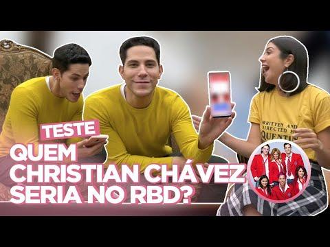 CHRISTIAN CHÁVEZ RESPONDE: TESTE DO RBD NUDES PABLLO VITTAR ELE NÃO  Foquinha