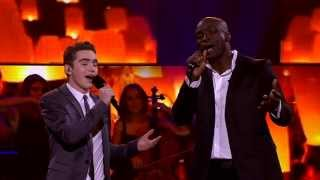 Seal & Harrison Craig Sing He Ain't Heavy He's My Brother: The Voice Australia Season 2