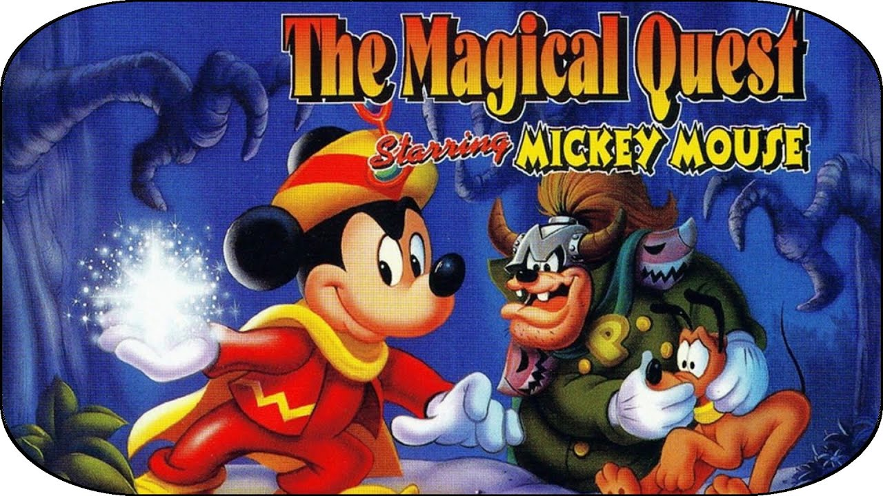 the magical quest starring mickey mouse  mickey le