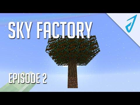 Sky Factory 2.5: LAVA BABY! (Episode 2)