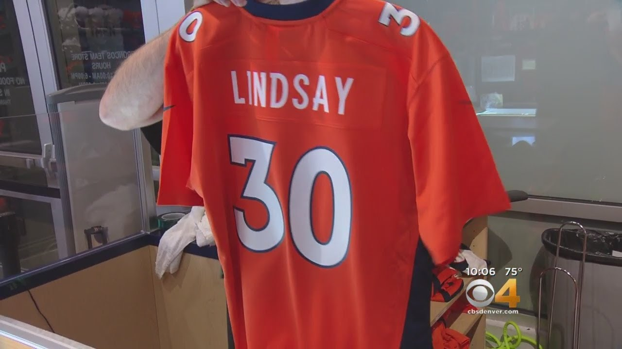 low cost 5d19d 92d10 Phillip Lindsay Customized Jerseys Selling Like Hot Cakes