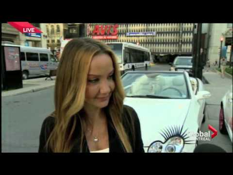 Car Lashes Interviewed on Montreal's Global TV