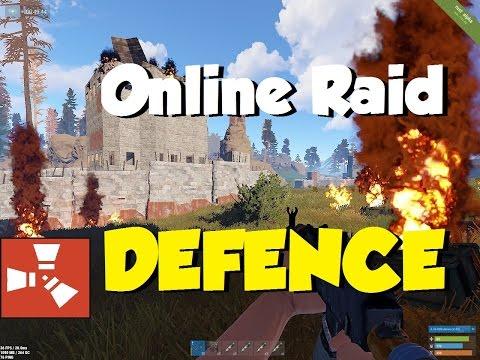 Online RAID Defence | Rust