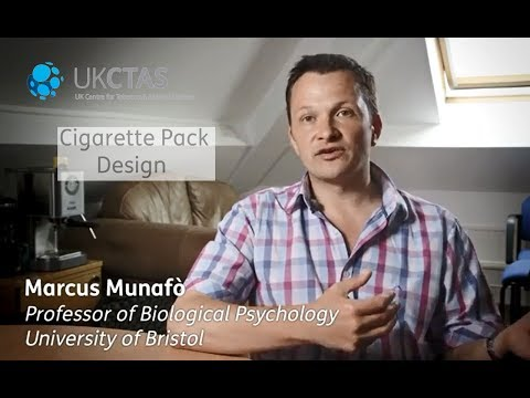 Cigarette pack design