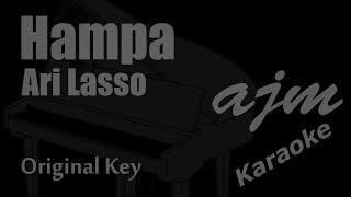 Download Ari Lasso - Hampa (Original Key) Karaoke | Ayjeeme Karaoke
