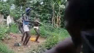 Танец в Африке