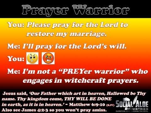 Spiritual Warfare Prayers: Restoration of Relationship (Marriage)