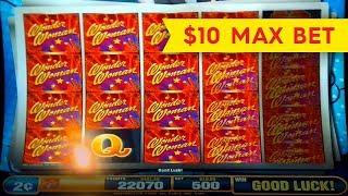 Wonder Woman Wild Slot - BIG WIN BONUS - $10 Max Bet!
