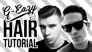 G-Eazy Hairstyle Tutorial | Men's Hair by Cam Cretney