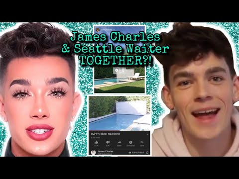 James Charles and Seattle Waiter BACK TOGETHER!?? thumbnail