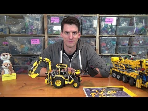 Das wahnsinnigste LEGO® Technic Set ist der 8455 - Pneumatik-Bagger