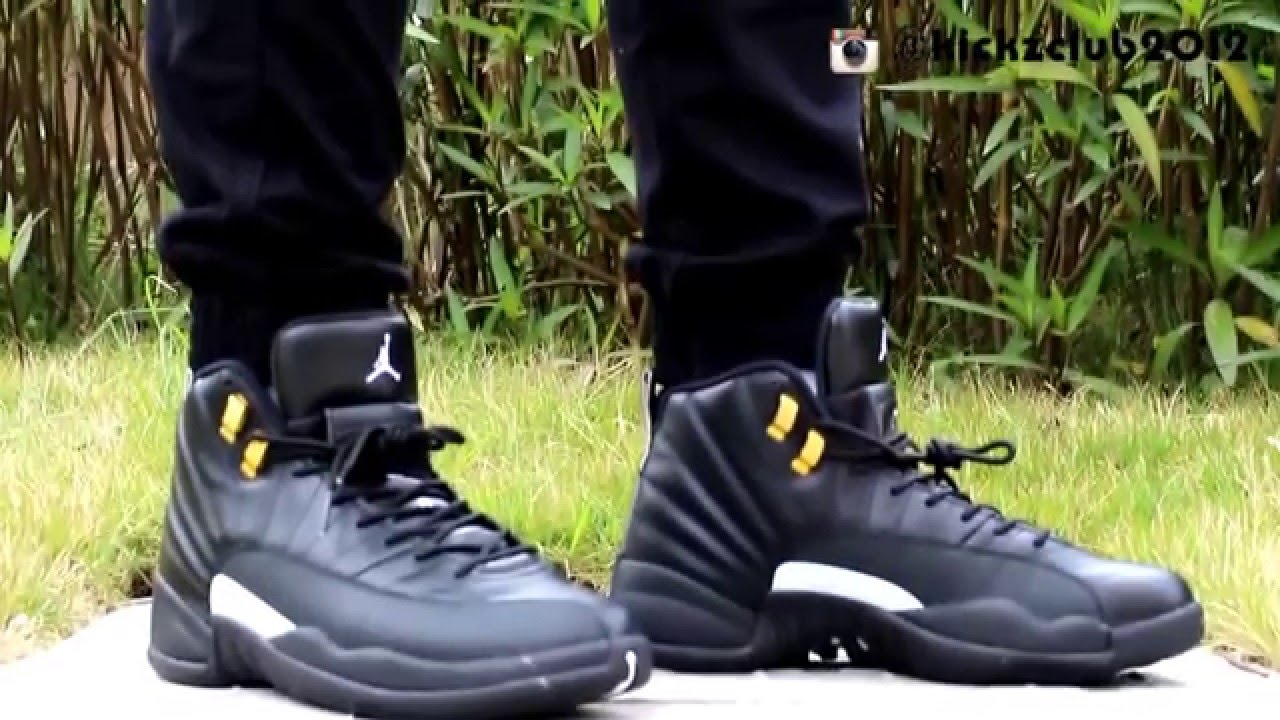 new concept 0a730 bde3a ... jordan 12 master on foot from kickzclub.net - YouTube air .