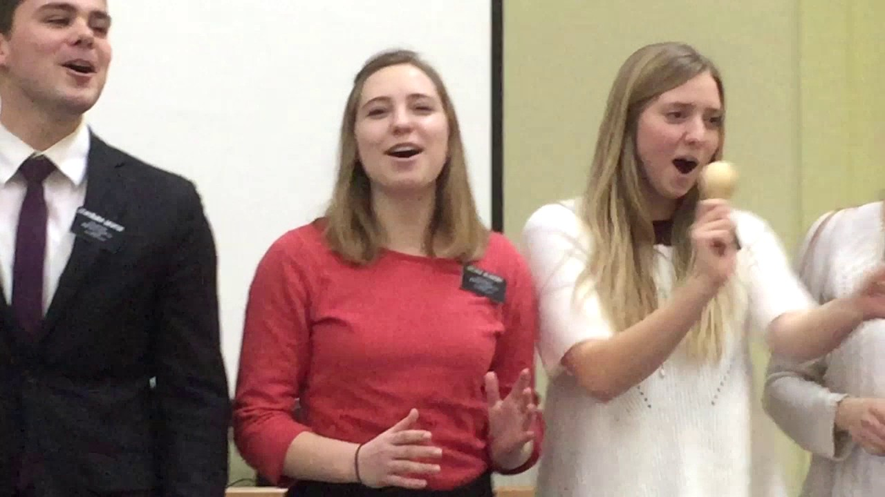 Миссионеры поют веселую песню на празднике | Мормоны Украина | mormons Ukraine | американцы Украине