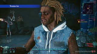 Cyberpunk 2077 - Ask Stefan For A Refund, All Dialogue Choices (Sweet Dreams)