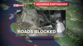 Second earthquake hits sumatra