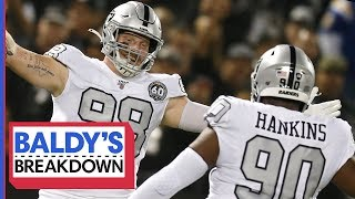Maxx Crosby & Raiders D-Line Show Up Big In Week 10 | Baldy's Breakdown