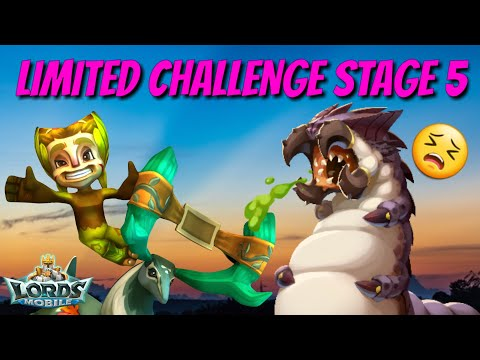 Limited Challenge Stage 5 Grove Guardian - Lords Mobile