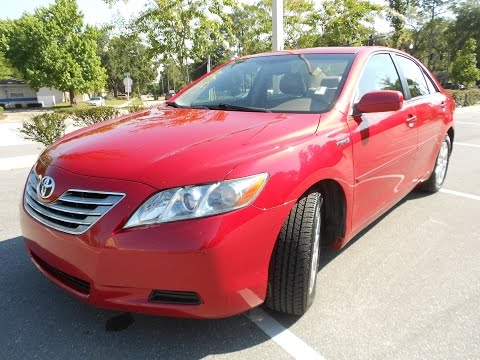 2007 CAMRY HYBRID W/NAV LEATHER BLUETOOTH SUNROOF!!