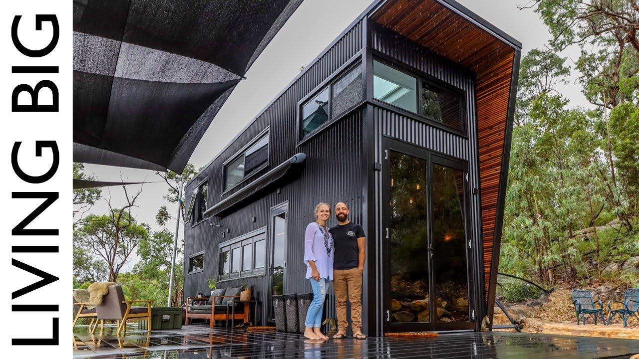 This Ultra Modern Tiny House Will Blow Your Mind Youtube