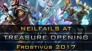 Dota 2 NeilFails at Opening Frostivus 2017 Treasure