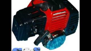 Ma trotinette a moteur thermique 49 cc (video + photo)