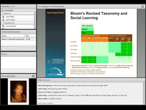 Leveraging Social Media Webinar
