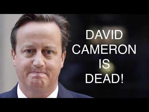 Guerrilla Democracy News Shocker - Is David Cameron a Necrophile?
