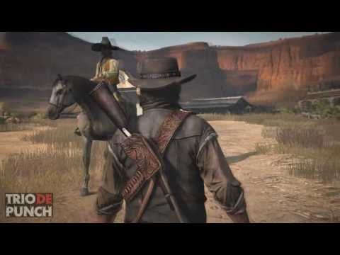 TRIO DE PUNCH reseña de RED DEAD REDEMPTION review