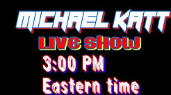 LIVE SHOW TODAY 3:00PM EASTERN TIME