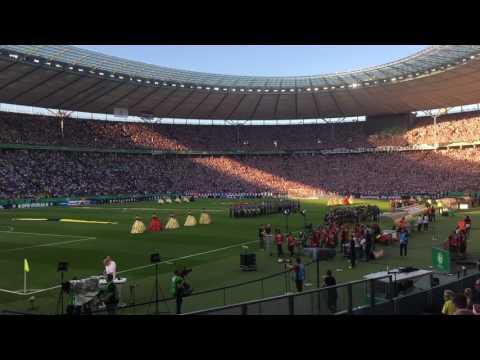 Scheiß DFB  ! POKALFINALE 2017 Komplette Olympiastadion // Borussia Dortmund – Eintracht Frankfurt