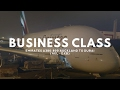 LAST! longest flight in the world - EMIRATES BUSINESS A380 - UPPER DECK - AUCKLAND TO DUBAI
