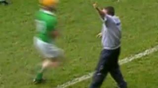 Davy Fitz gets hit