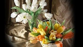 DIY | Simple, Realistic Tulips - Coffee Filter Flowers