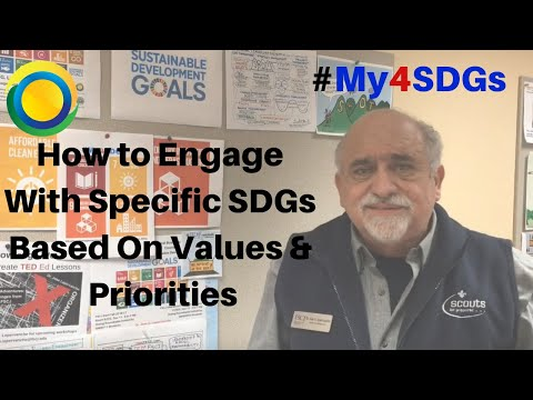 How to Engage With Specific SDGs Based On Values & Priorities | #My4SDGs | Dr. Jose G. Lepervanche