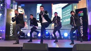 CNCO - Devuélveme Mi Corazón - Times Square New York 2016 thumbnail