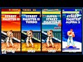 Street Fighter II RYU Graphic Evolution 1992-1996 (Super Nintendo) SNES