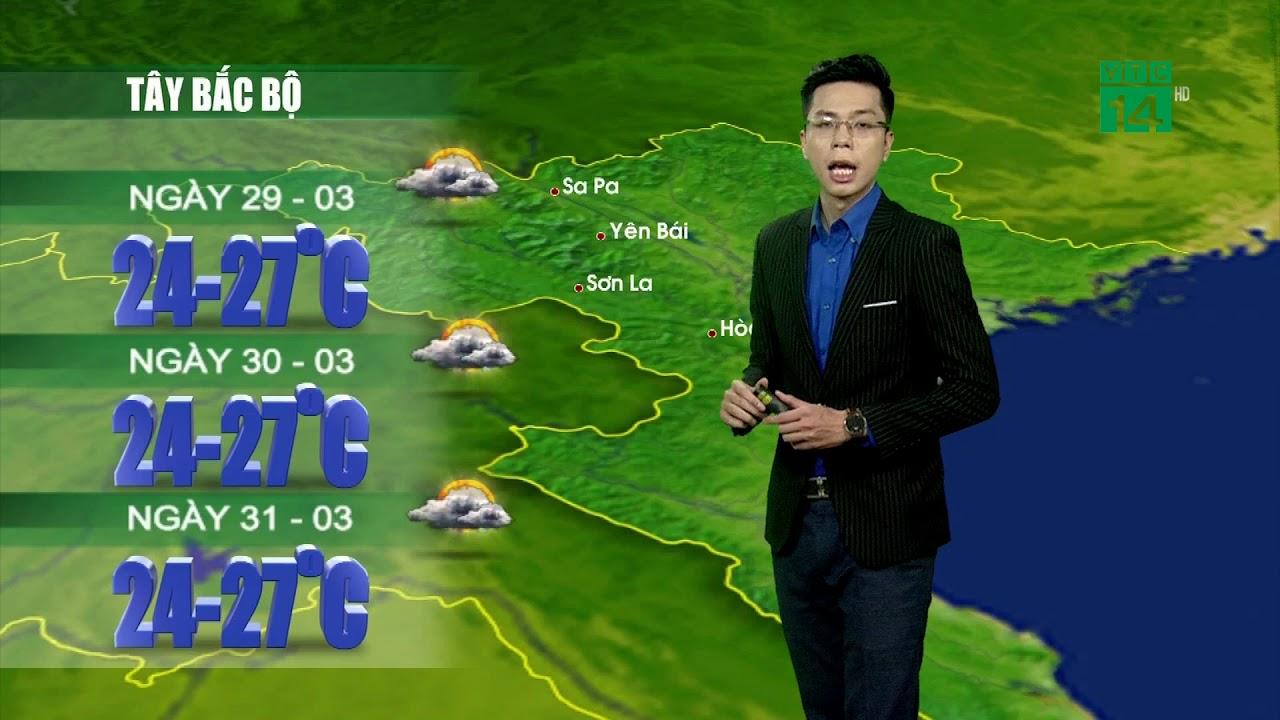 VTC14 | Thời tiết 12h 28/03/2018 | Thời tiết miền Bắc thuận lợi trong 3 ngày tới